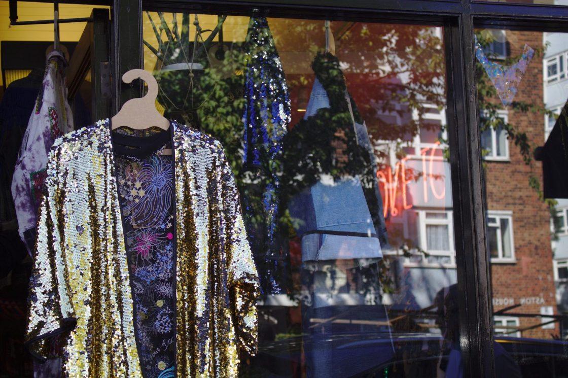 Magasin de vêtements à Portobello Road