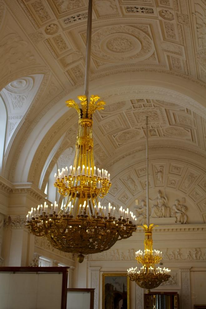 Salle blanche Musée de l'Ermitage