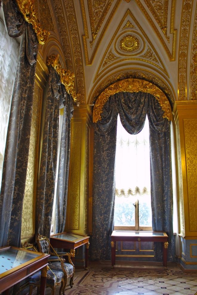 Salle dorée Musée de l'Ermitage