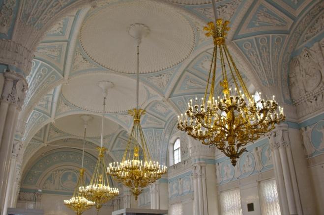 Salle Alexandre Musée de l'Ermitage Saint Petersbour