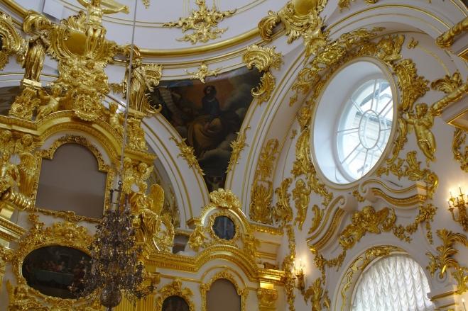Grande Eglise du musée de l'Ermitage Saint Petersbourg