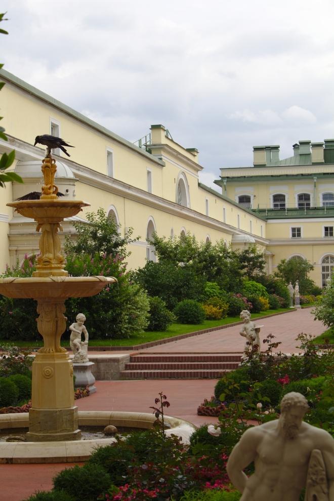 Jardins suspendus musée de l'Ermitage