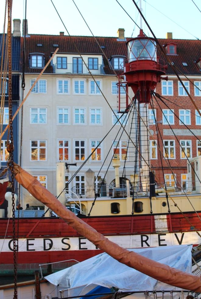 Port de Nyhavn à Copenhague au Danemark