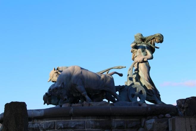Fontaine de Gefion à Copenhague