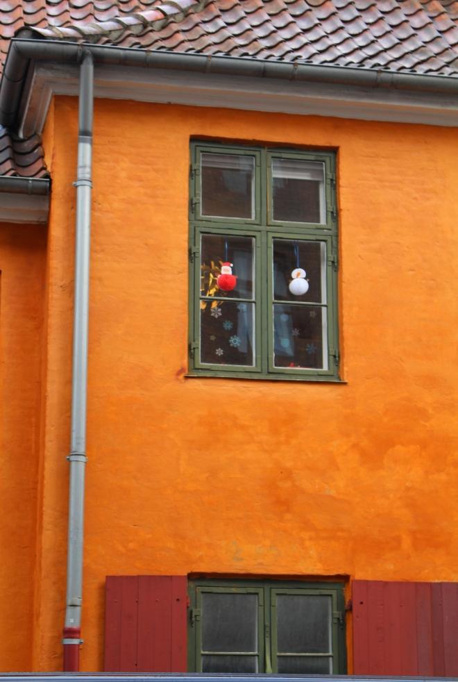 Quartier de Nyboder à Copenhague