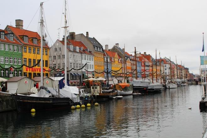 Port de Nyhavn à Copenhague