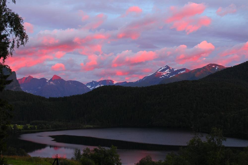 Montagnes de Norvège